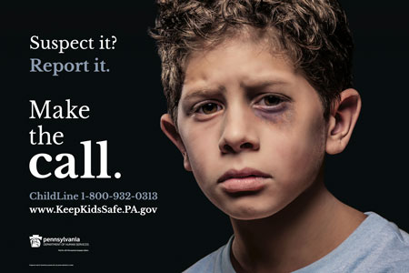 poster from www.KeepKidsSafe.PA.gov